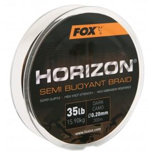 Fir Textil Fox Horizon Dark Camo Semi Bouyant Braid, 300m/0,20mm